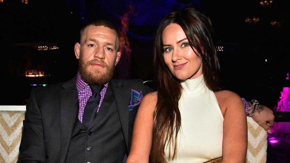 Conor mcgregor y Dee Devlin