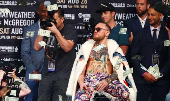 Conor McGregor en el TOP 30 de los atletas mejor pagados de todo mundo