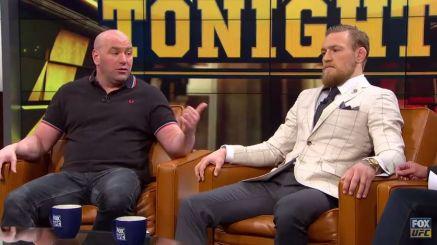 Conor Mcgregor no está contento con los comentarios de Dana White