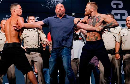 Conor McGregor vs Nate Díaz