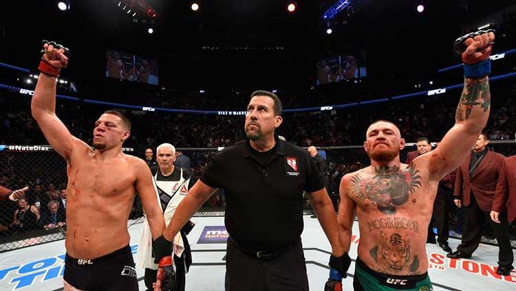 Nate Díaz quiere un tercer combate contra Conor McGregor