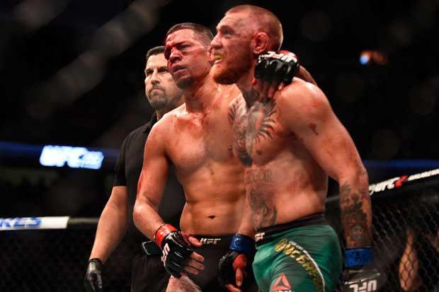 Nate Díaz vs Conor McGregor